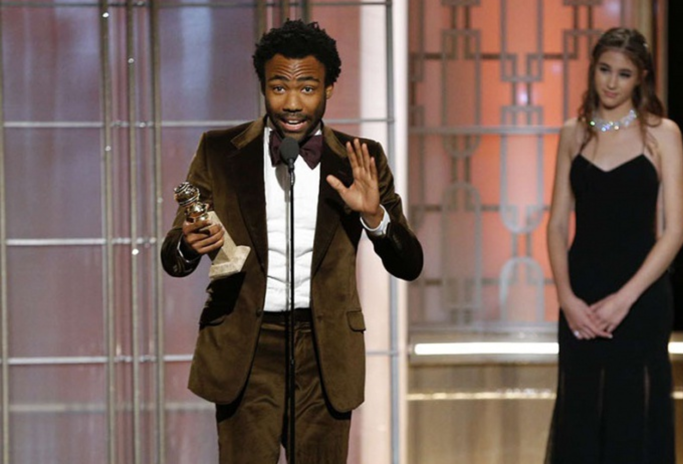 Donald Glover a.k.a Childish Gambino triomphe aux Golden Globes