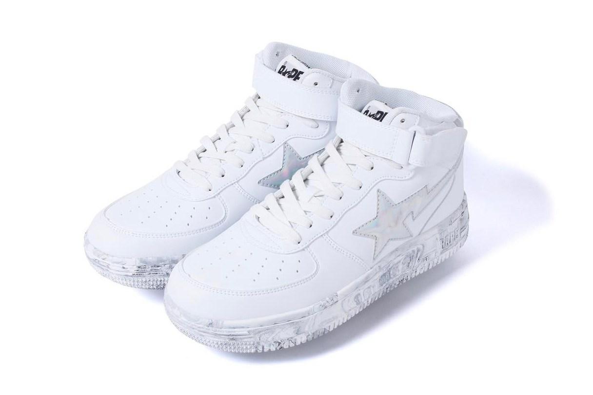BAPE enrichit sa collection SS17 avec trois nouvelles sneakers