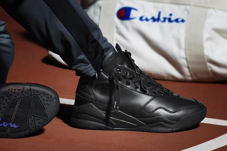CASBIA s'associe à Champion pour une nouvelle sneakers