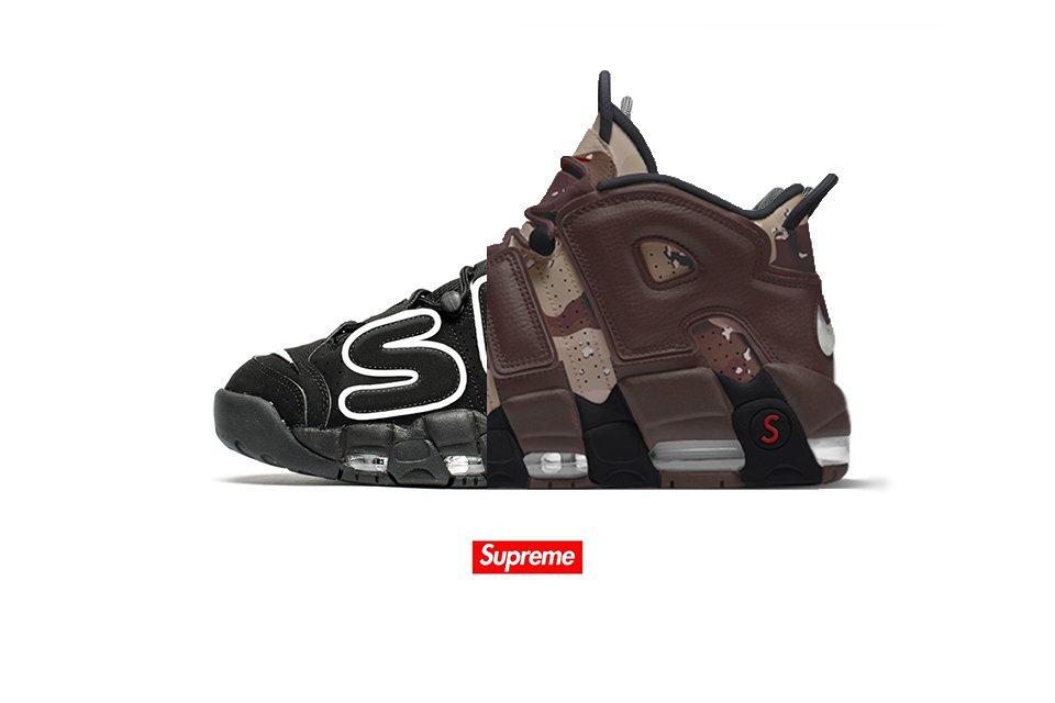 Et si les Supreme x Nike Air More Uptempo ressemblaient à ça