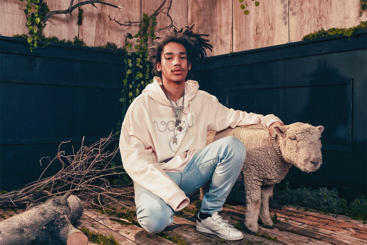 Des Milliards engage Luka Sabbat et un agneau pour son lookbook SS17