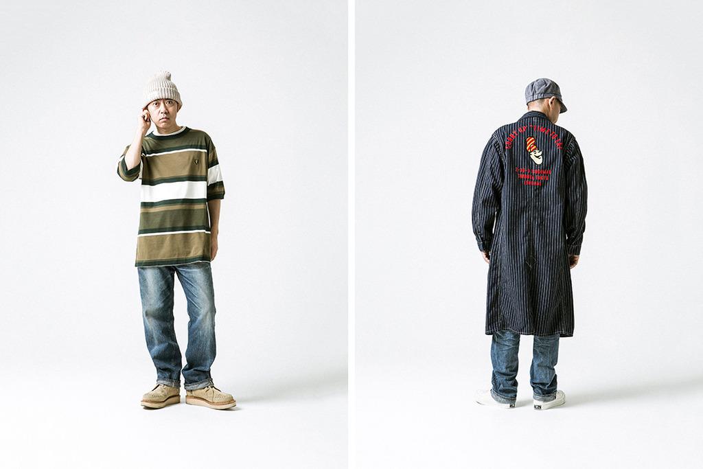 La collection ss17 d'Human Made, la marque du créateur de Bape