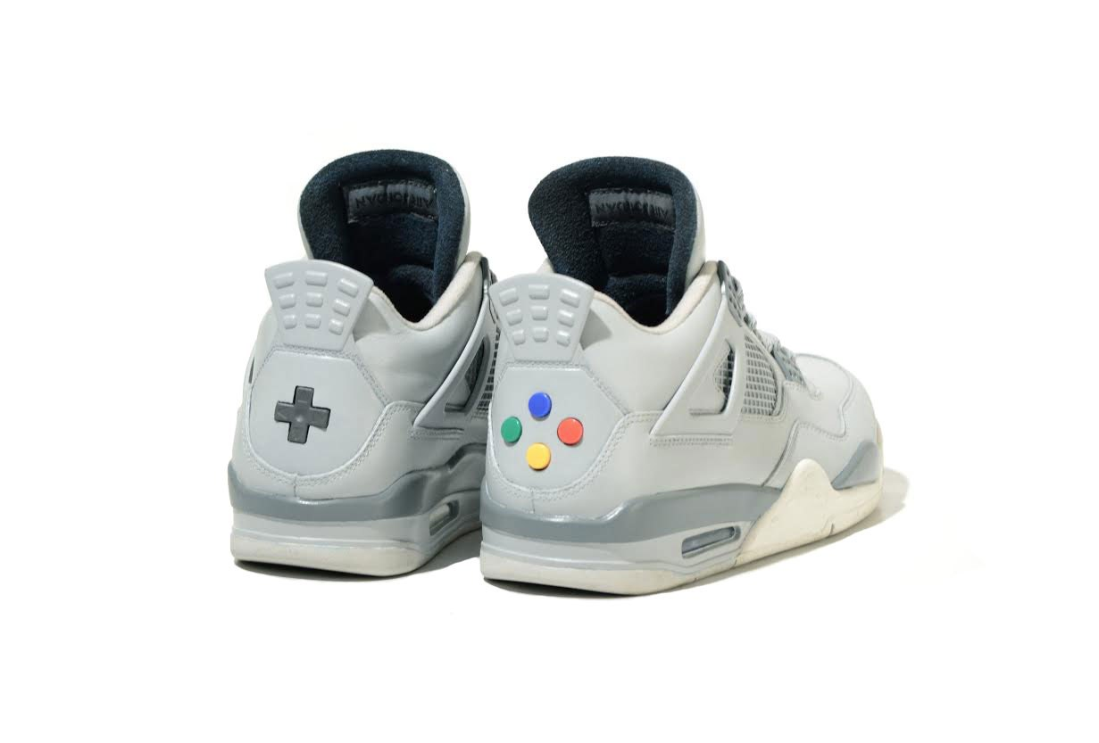 Le lancement de la Air Jordan 4 « Super Nintendo »