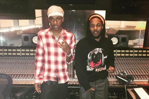 Rich The Kid en studio avec Kendrick Lamar