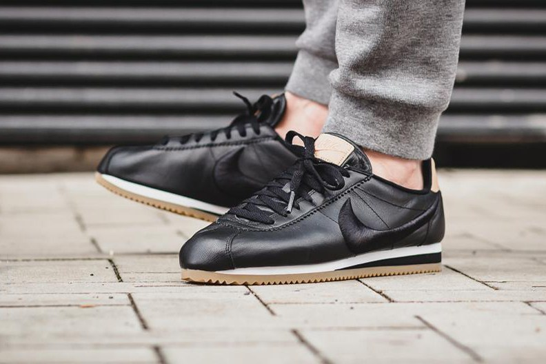 sneakers for cheap 84e42 7ee8d ... nike classic cortez leather black gum