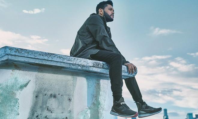 Puma présente deux nouvelles silhouettes masculines avec The Weeknd