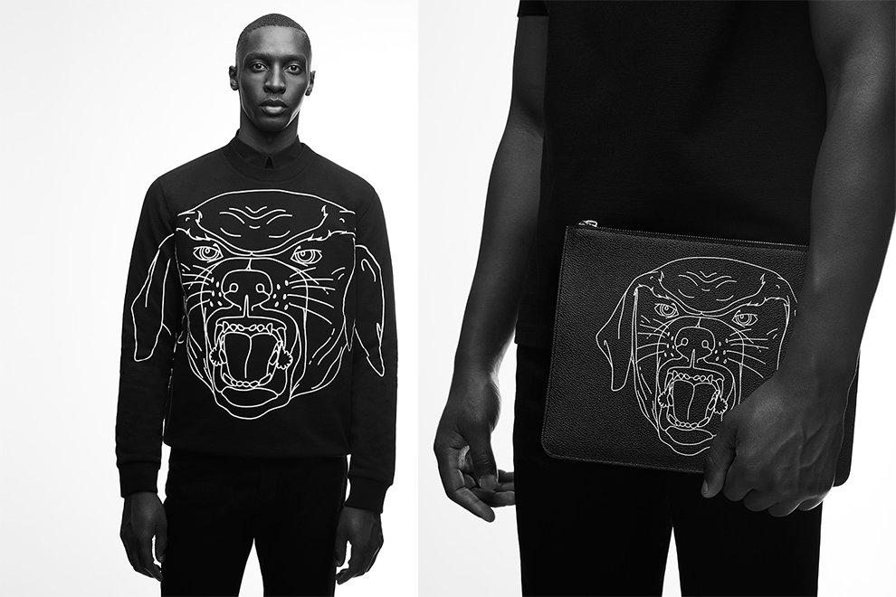 Givenchy sort de ses tiroirs le célèbre motif Rottweiler pour une nouvelle collection capsule
