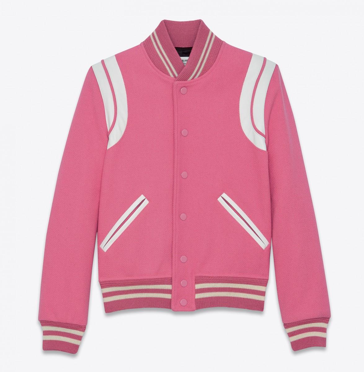 Le Teddy Saint Laurent en mode Rose Bonbon