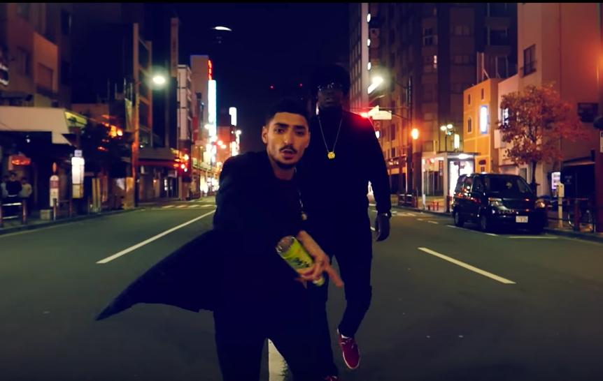 Sneazzy et S.Pri Noir rôdent dans les rues japonaises pour le clip de «Okkk»
