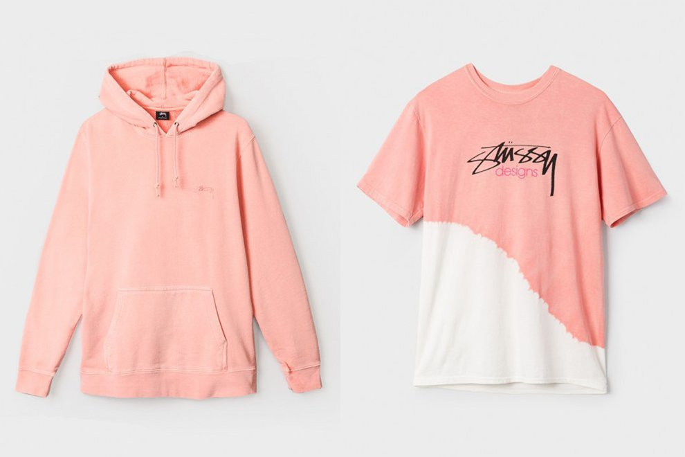 Focus sur la Pink Touch de la collection « O'Dyed Classics » de Stüssy