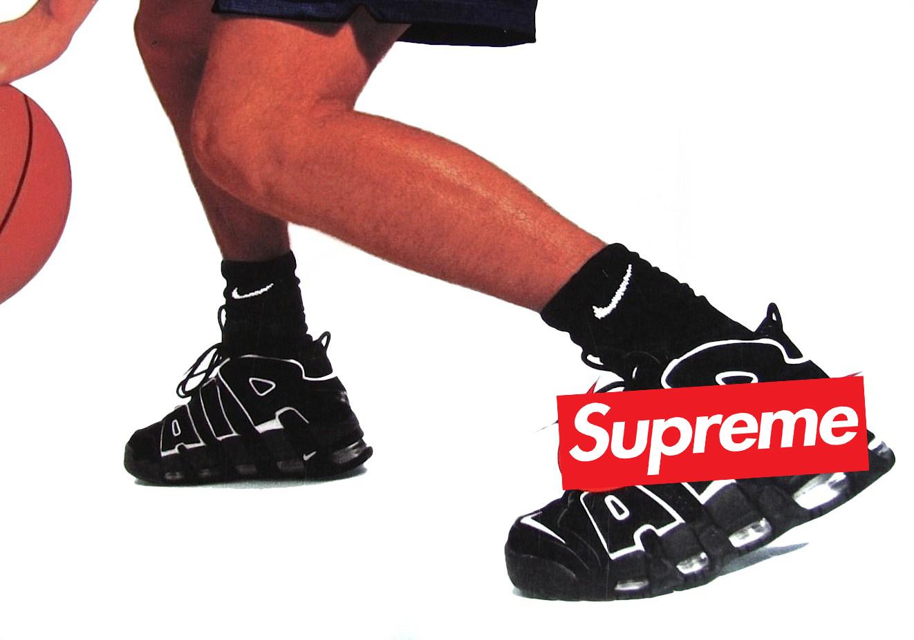 La Nike Air More Uptempo sera le prochain terrain de jeux de Supreme