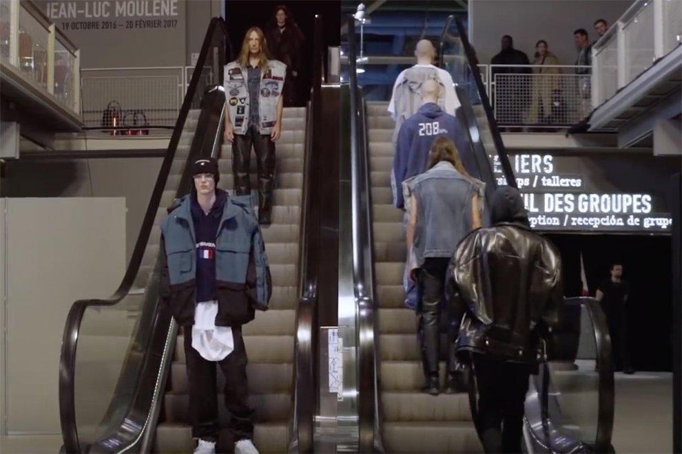 Revivez le défilé Vetements Automne-Hiver 2017-2018