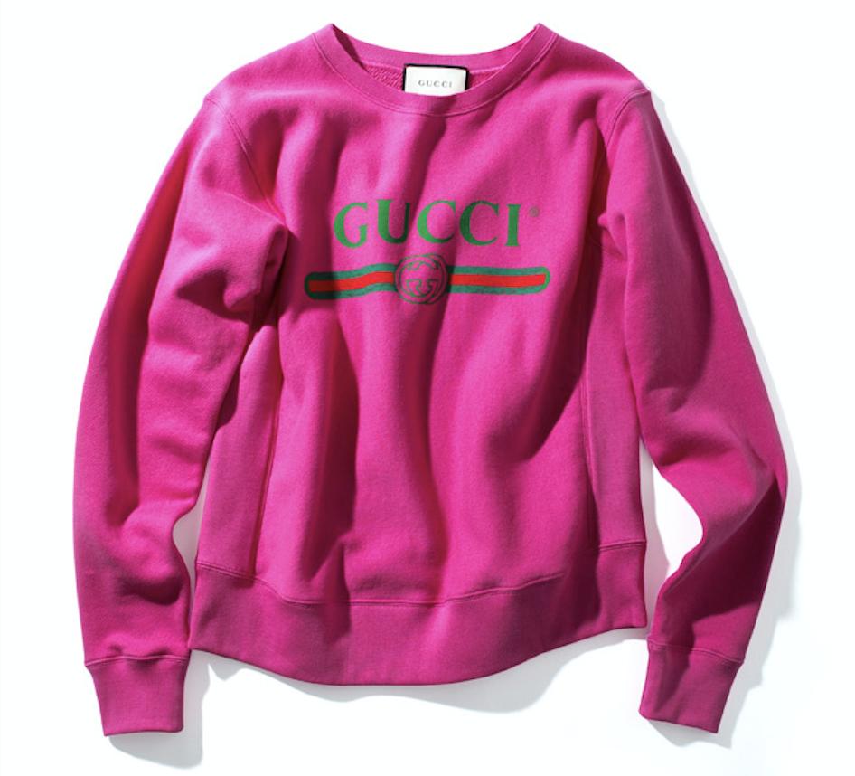 Gucci voit la vie en rose