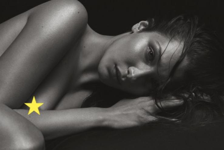 Bella Hadid se dénude pour un shooting de Mario Sorrenti