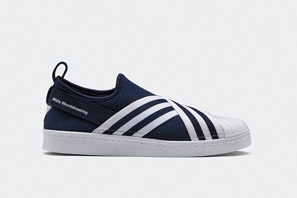 Adidas Originals x White Mountaineering continue avec une Superstar Slip-On