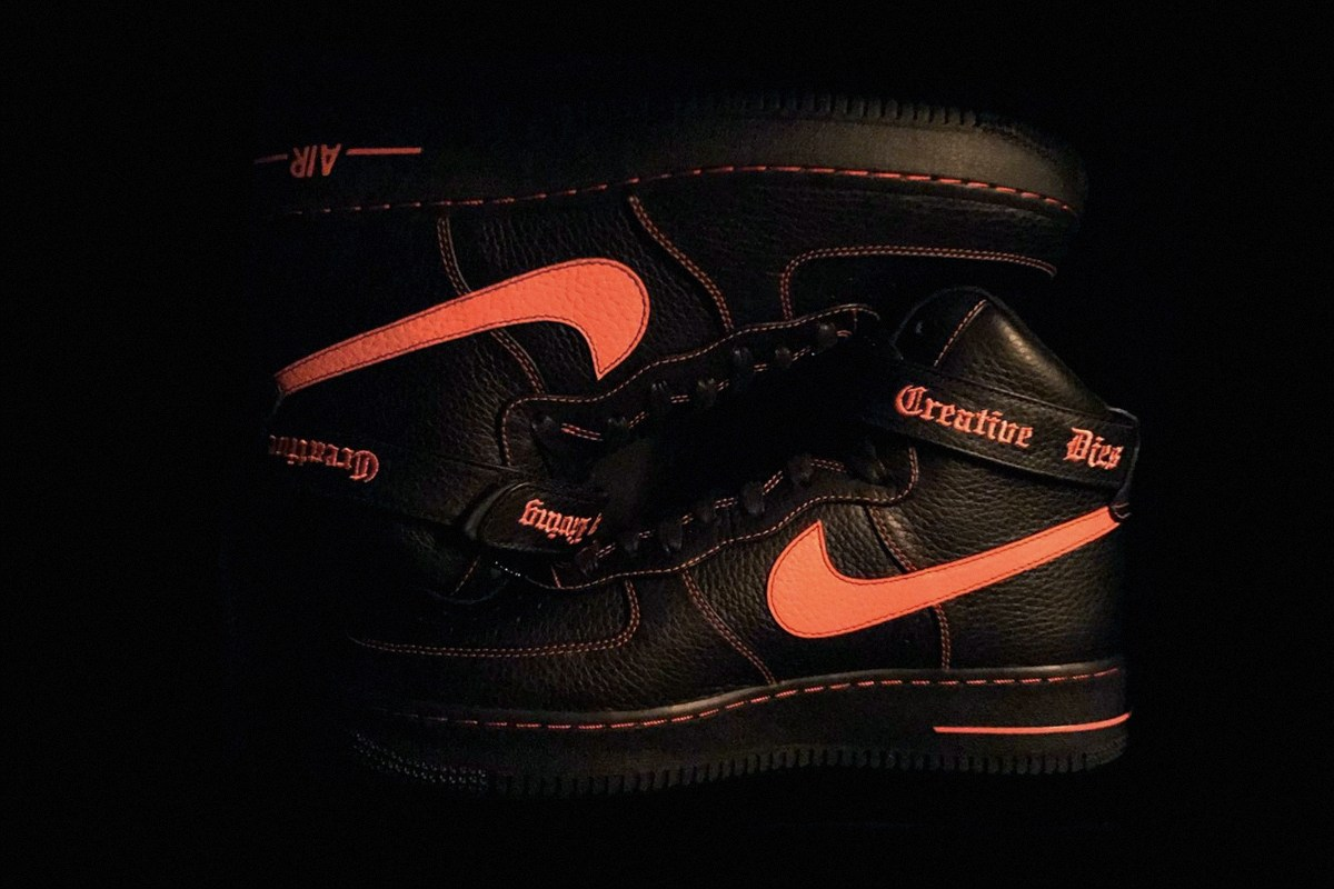 A$AP Bari dévoile la VLONE x Nike Air Force 1 High