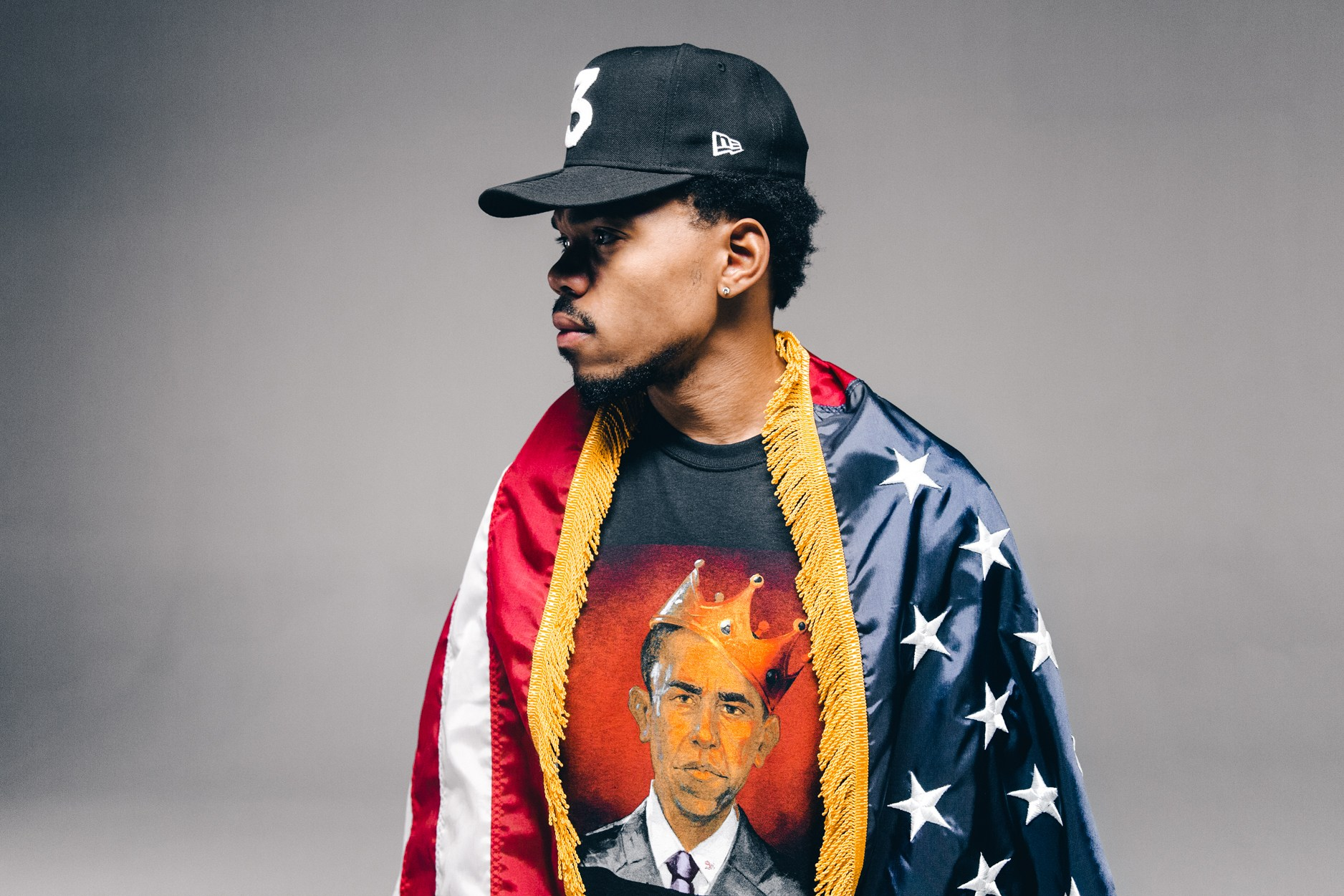 Chance The Rapper est l'égérie de la collection « Thank you Obama » de Joe Freshgoods