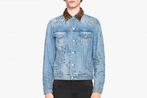 Gucci met à jour la veste en jean