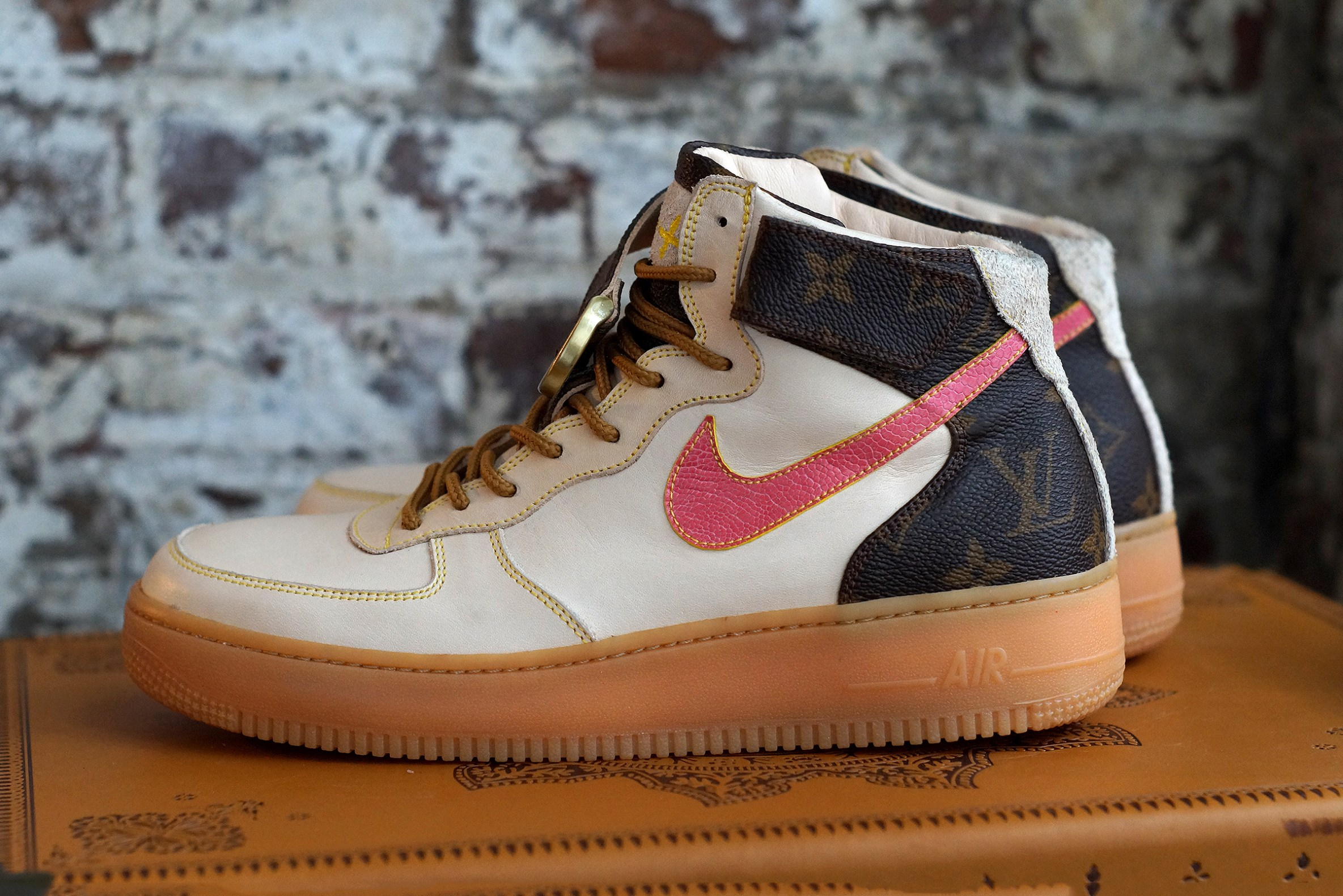 Une touche de Louis Vuitton sur la Nike Air Force 1