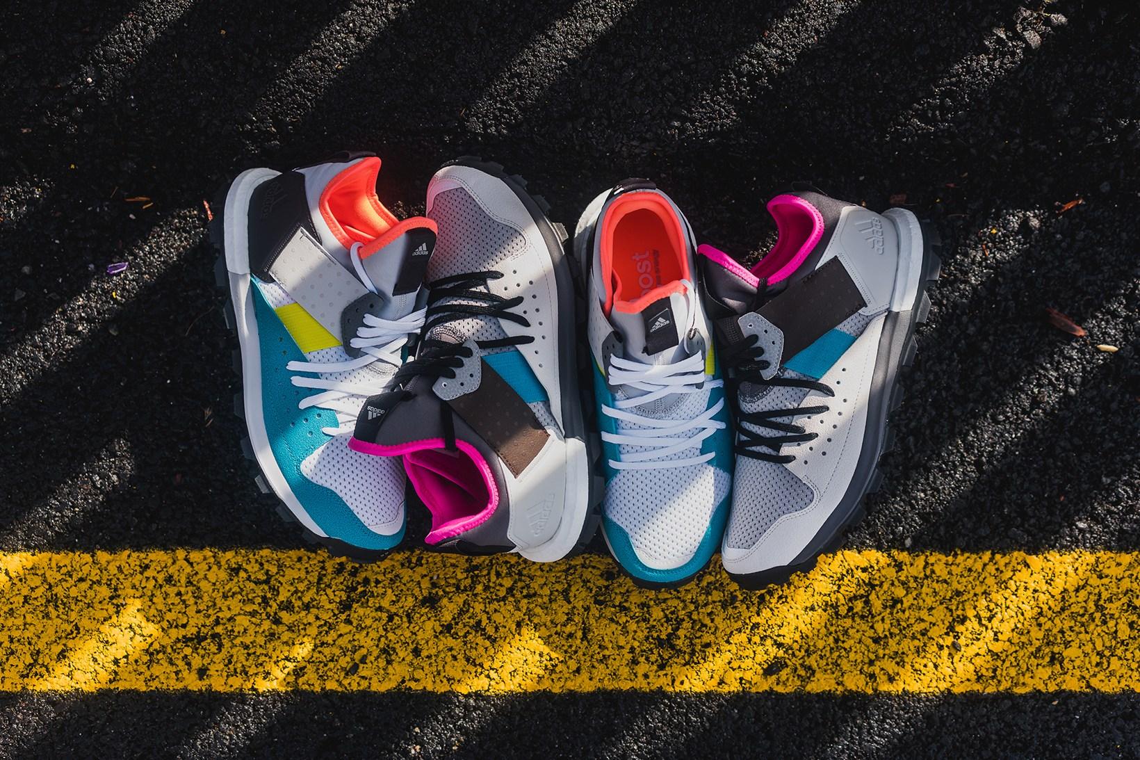 Kolor met sa touche sur la Adidas Response Trail BOOST