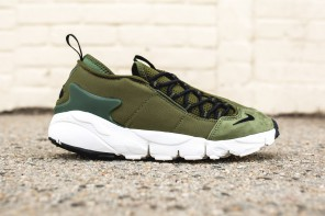 Le Nike « Legion Green » se dépose sur l'Air Footscape NM