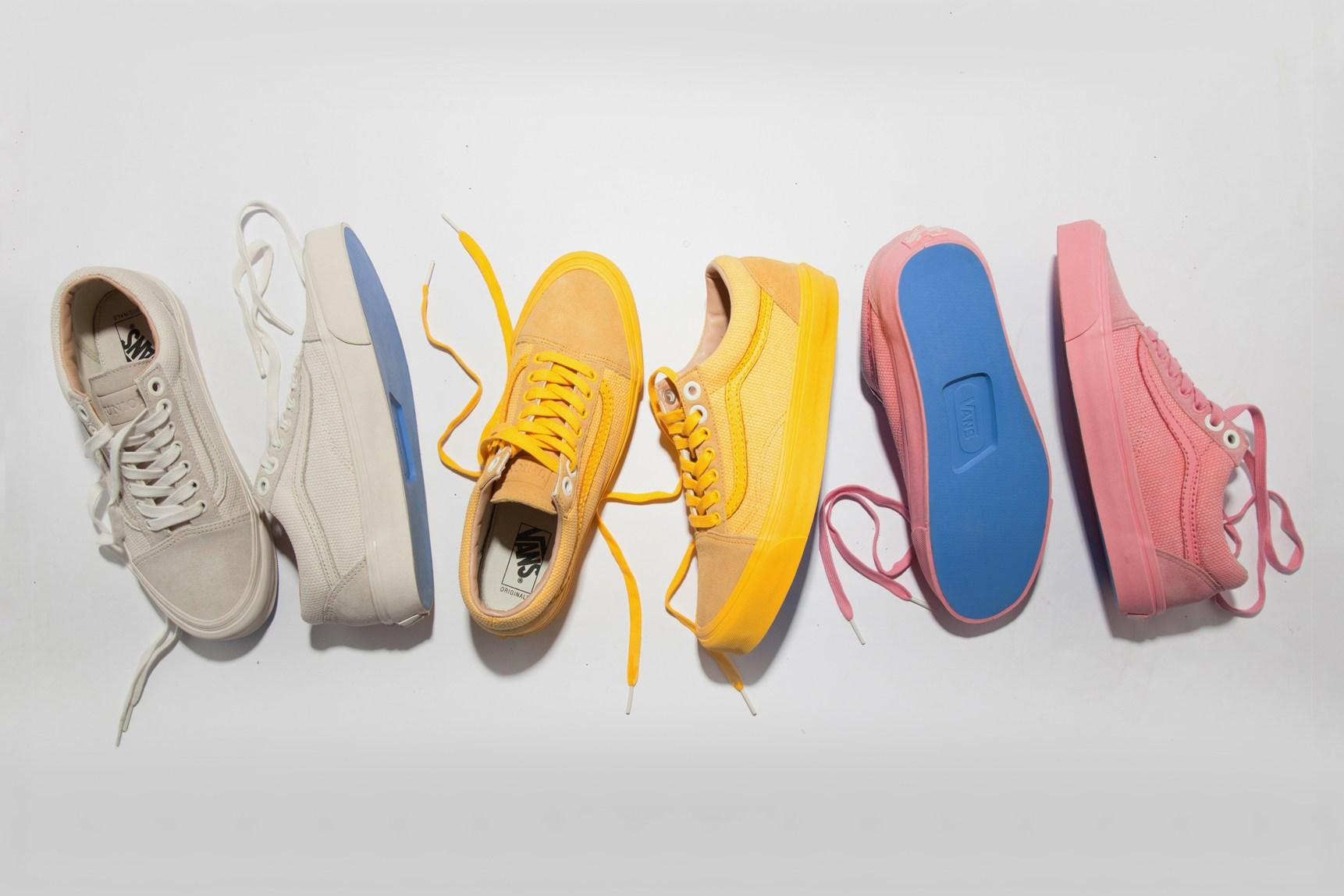 Union Los Angeles et Vans collaborent pour trois nouveaux modèles