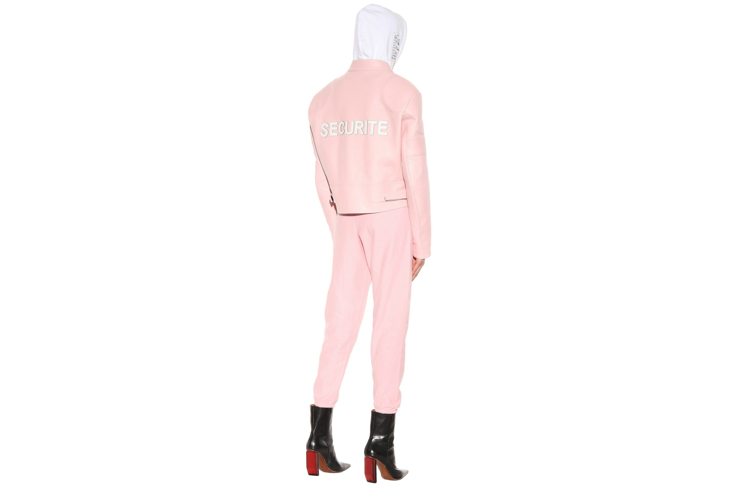vetements-securite-pink-leather-jacket-1