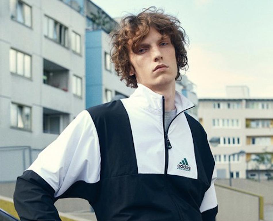 Adidas lance un lookbook rétro pour le printemps / été 2017