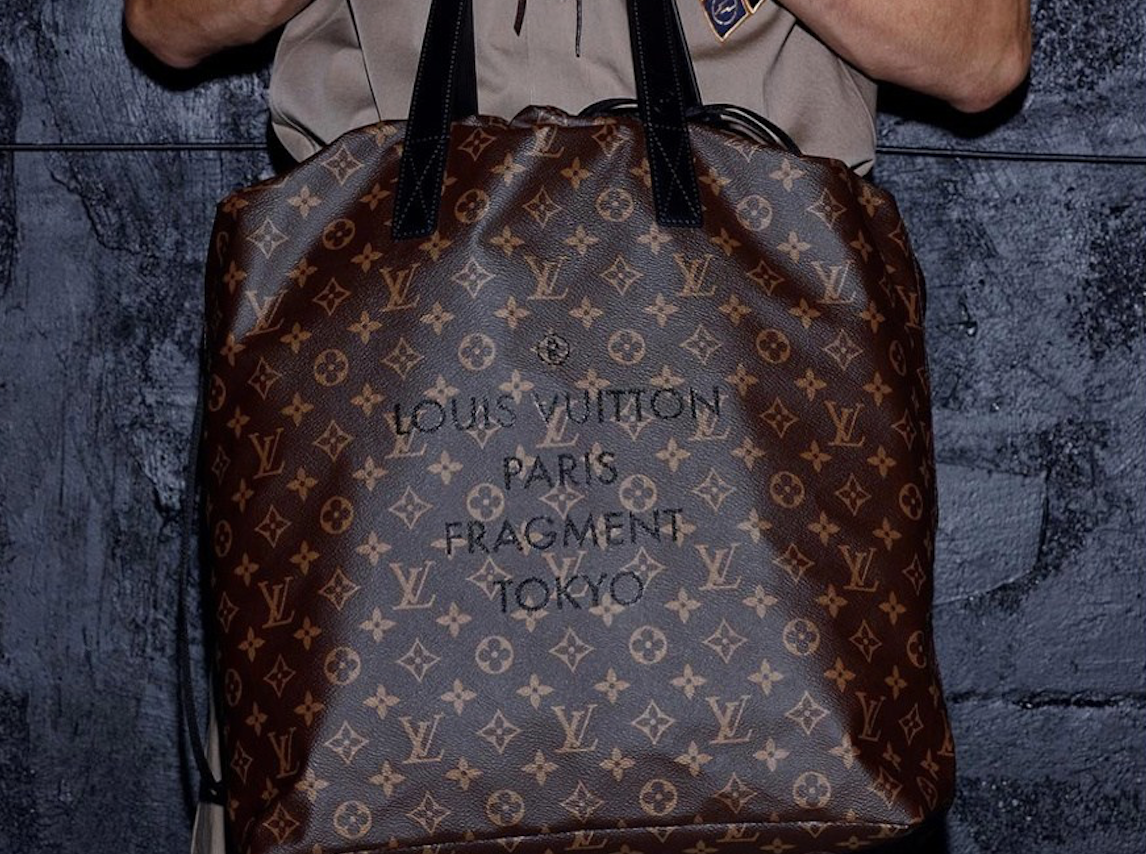 La collaboration Fragment Design x Louis Vuitton sera commercialisée en avril