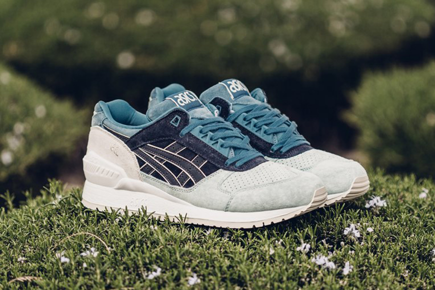 "Voici l'inédite ASICS GEL-Respector ""Indian Ink"""