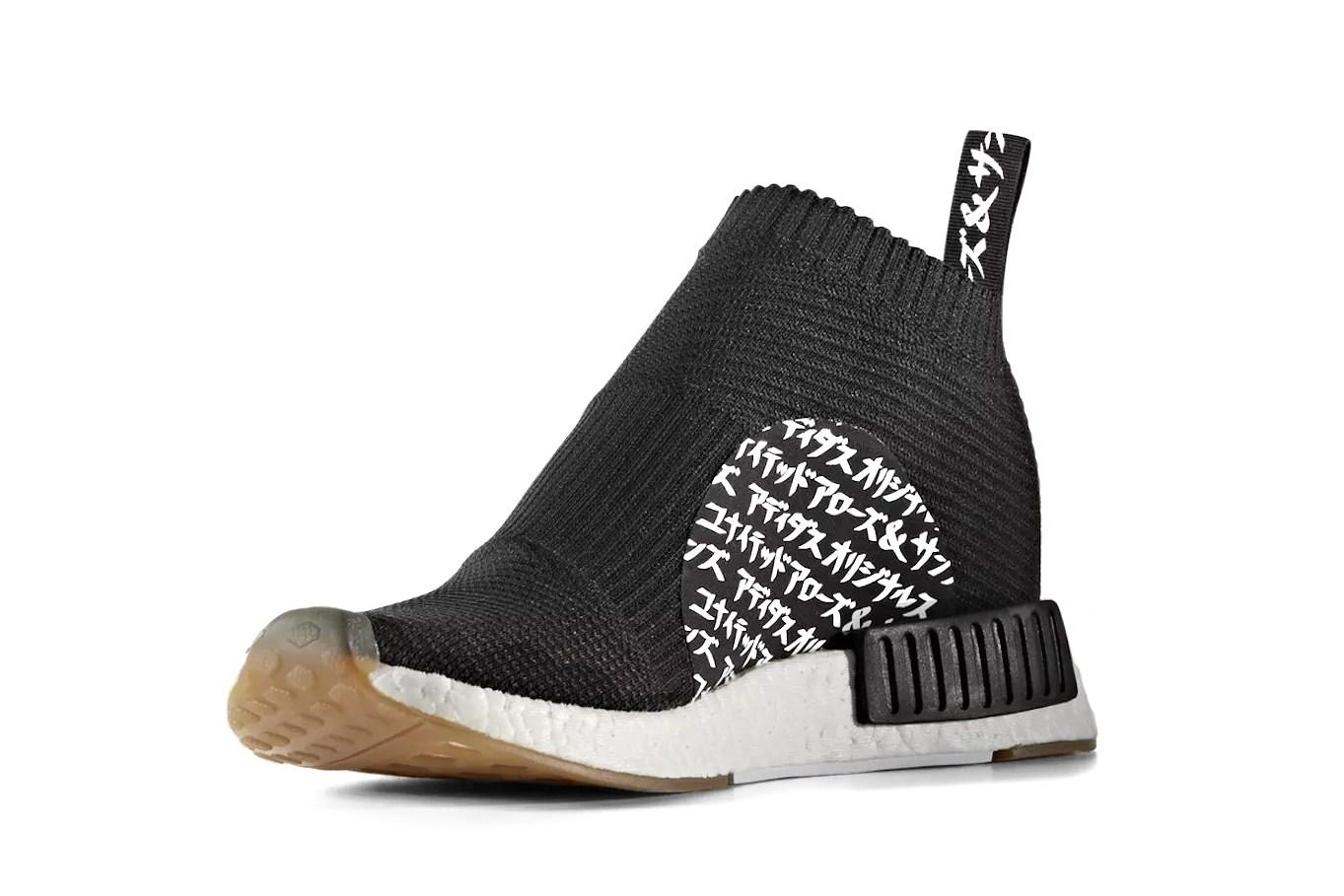 Découvrez l'inédite Adidas Originals x UNED ARROWS & SONS x MIKITYPE NMD City