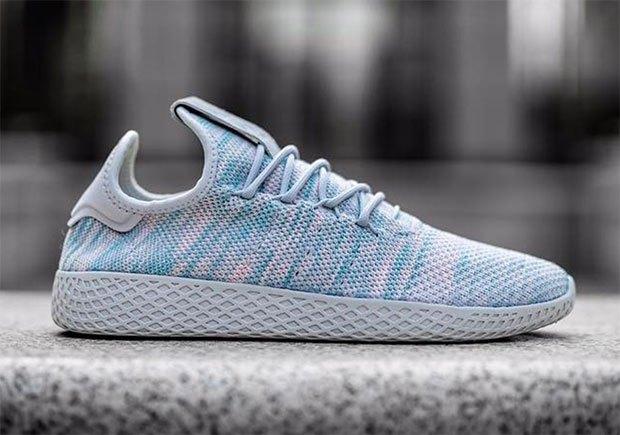 Une teinte printanière pour la dernière Adidas Human Race de Pharrell