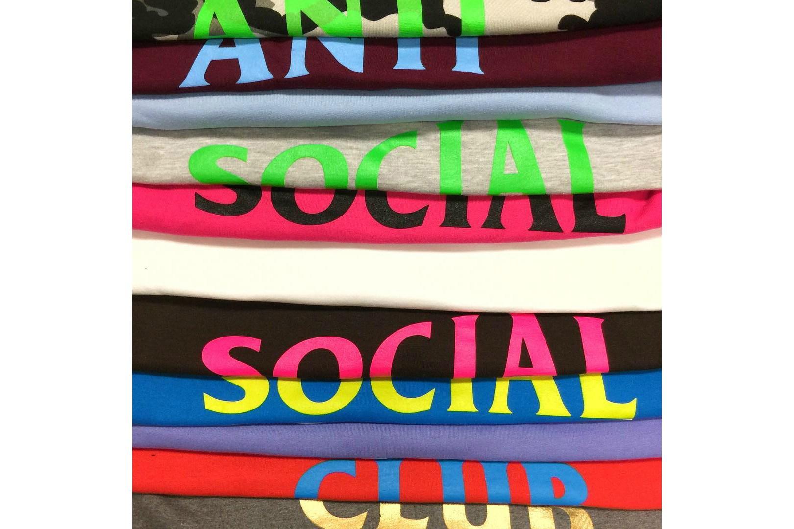 Voici une série de T-Shirts SS17 Anti Social Social Club