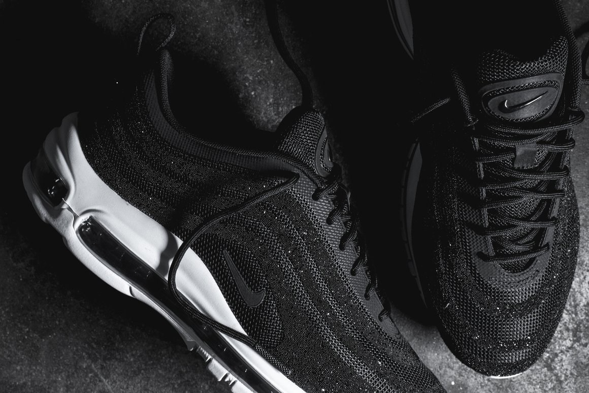 nike-air-max-97-black-white-swarovski-crystals- ...