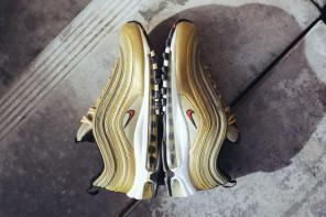 La Nike Air Max 97 «Metallic Gold» débarque dans quelques jours
