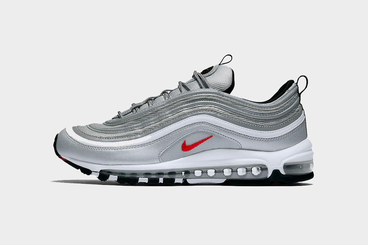 nike air 97 silver