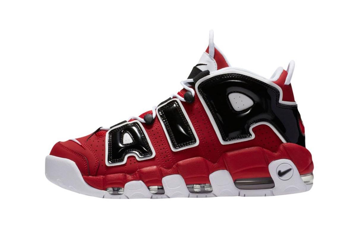 Voici l'inédite Nike Air More Uptempo «Bulls»