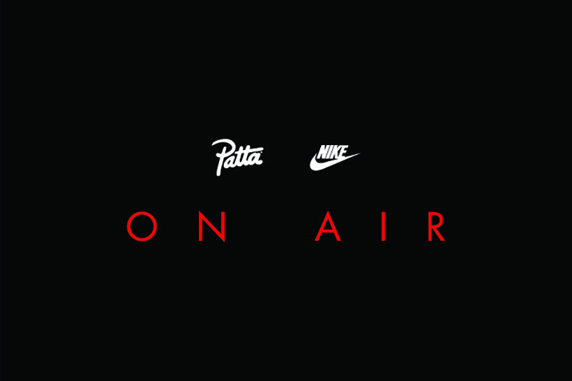 Patta & Nike annoncent leur pop-up « ON AIR »