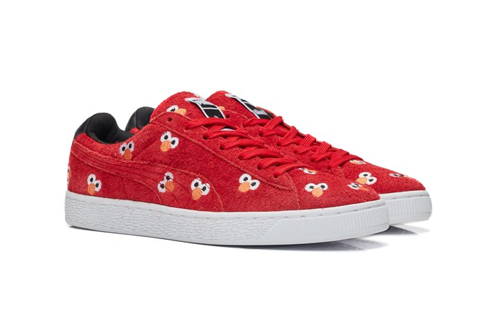 Cookie Monster et Elmo sur d'adorables Sesame Street x PUMA