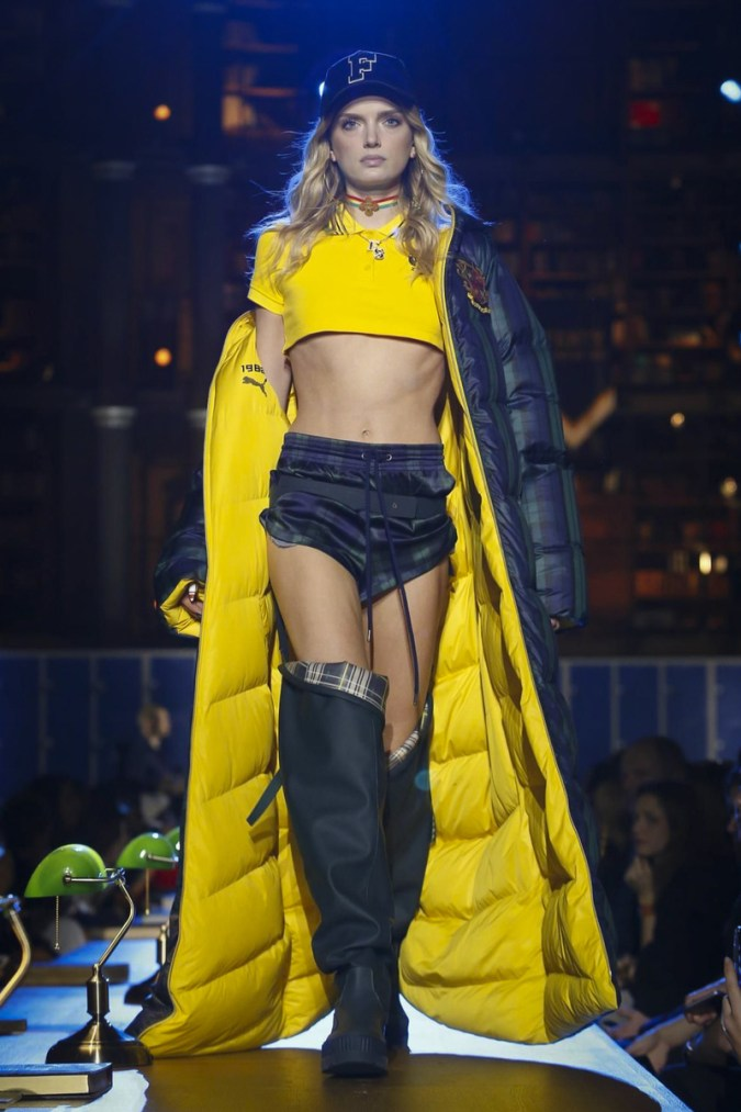 Fenty x Puma Fashion show, Ready to Wear Collection Fall Winter 2017 in Paris