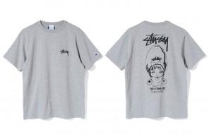 Stüssy x Champion lancent une nouvelle série de T-Shirts