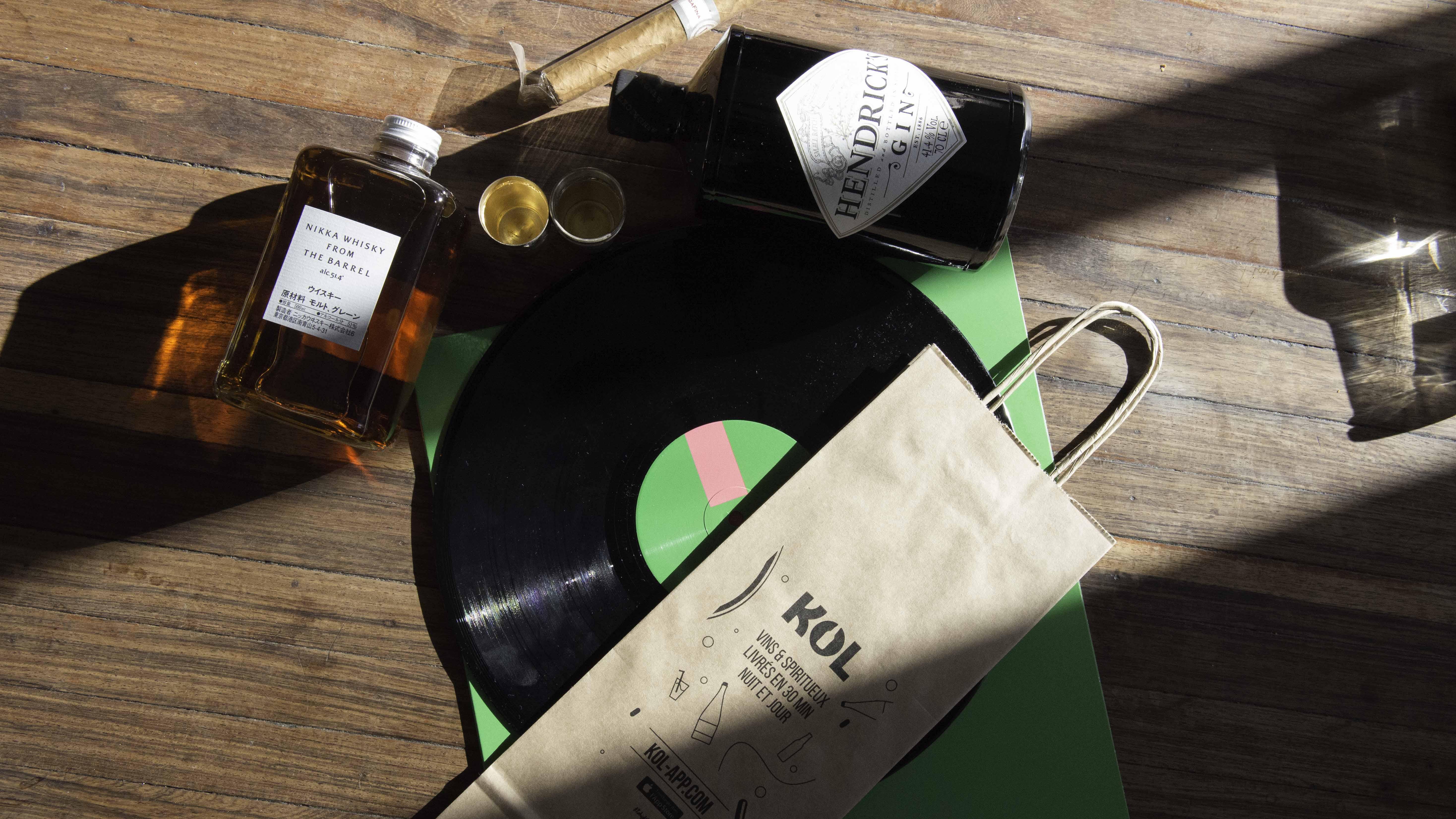 KOL : le service tendance de livraison d'alcool qui vous changera la vie