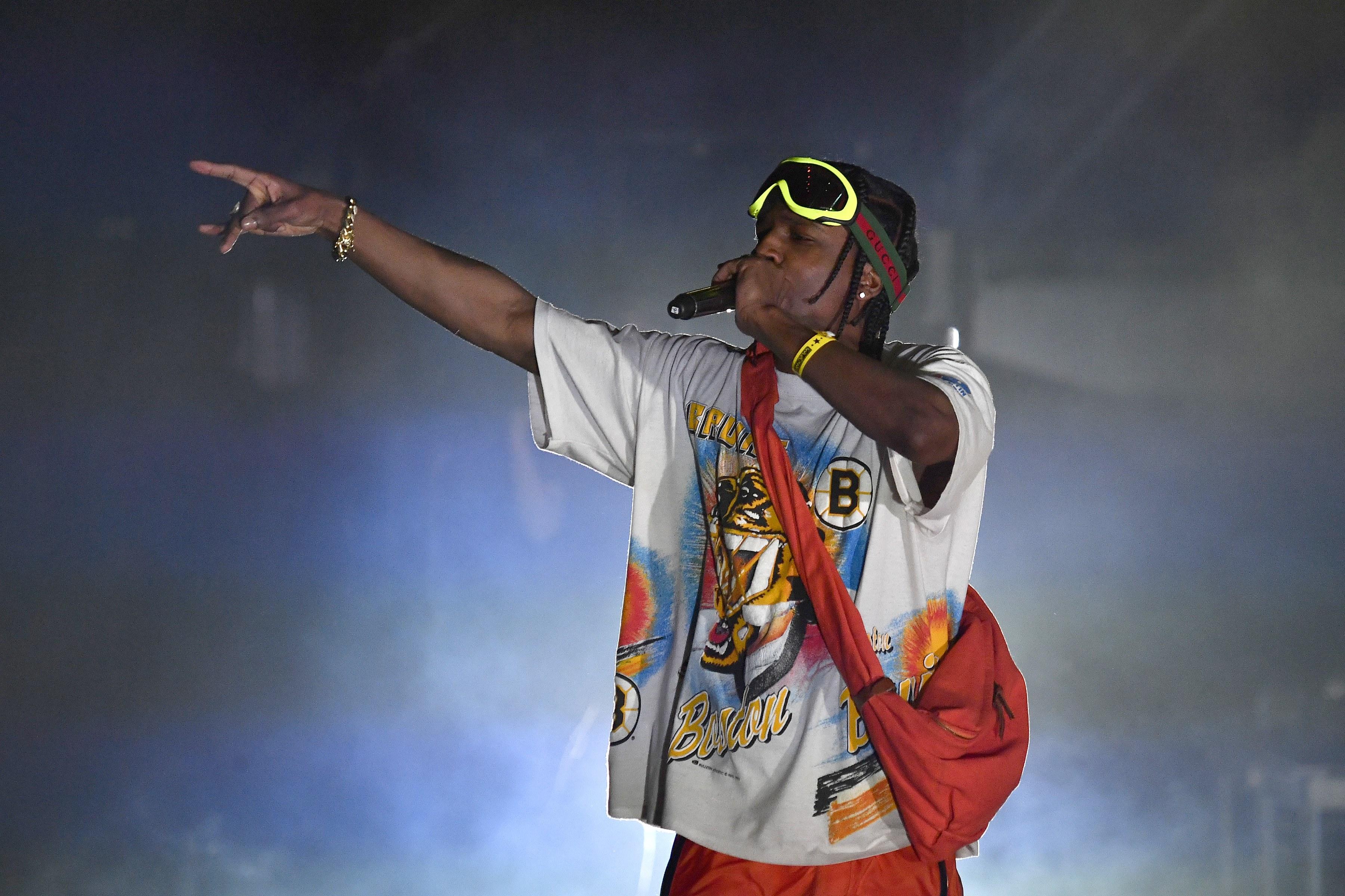 Un nouveau titre pour A$AP Rocky en featuring avec Juicy J et D.R.A.M