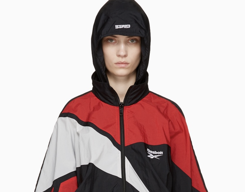 Vetements & Reebok laissent tomber une collection capsule