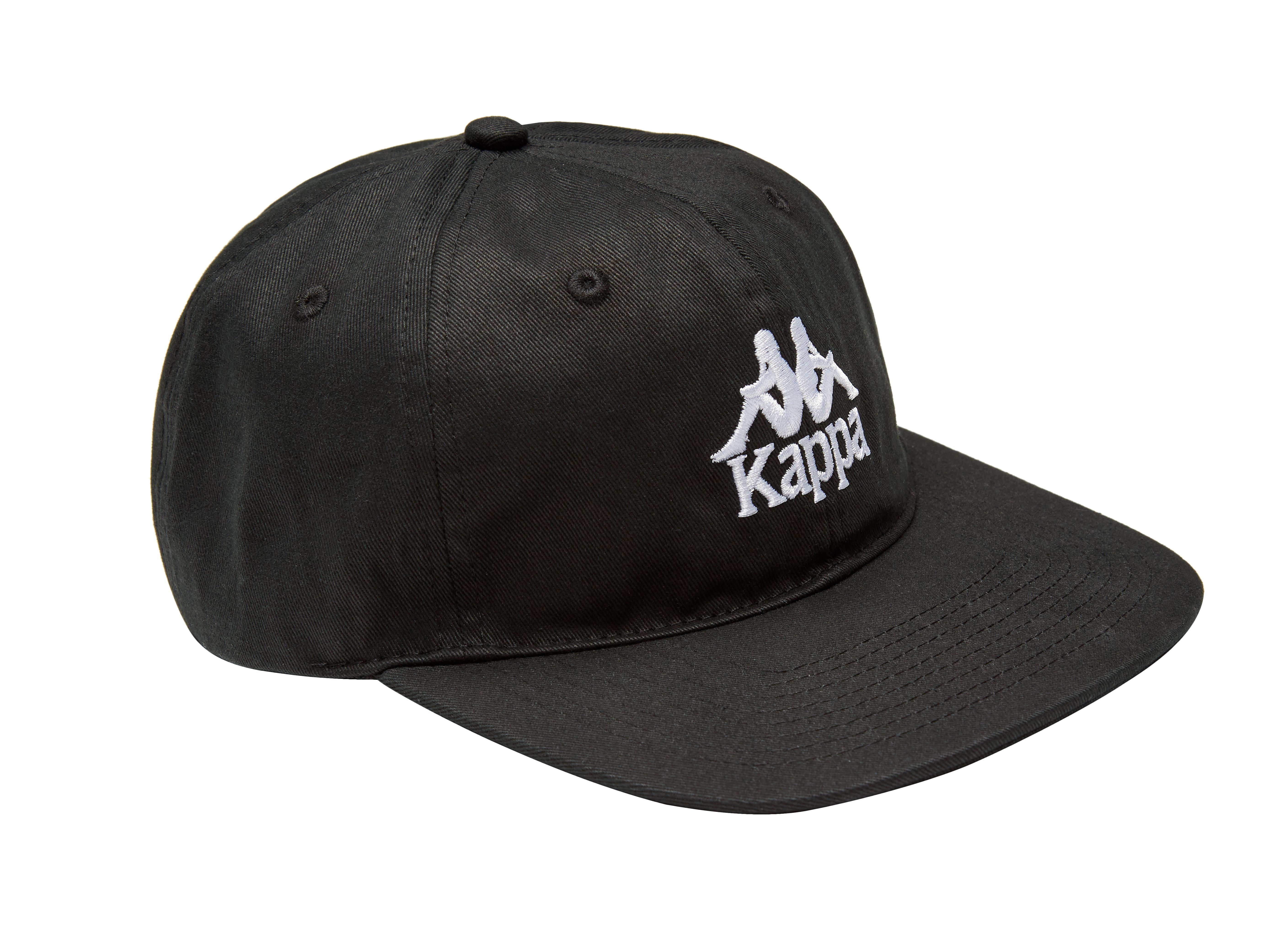 SSENSE_Kappa_SSENSE Exclusive Black Kappa Cap