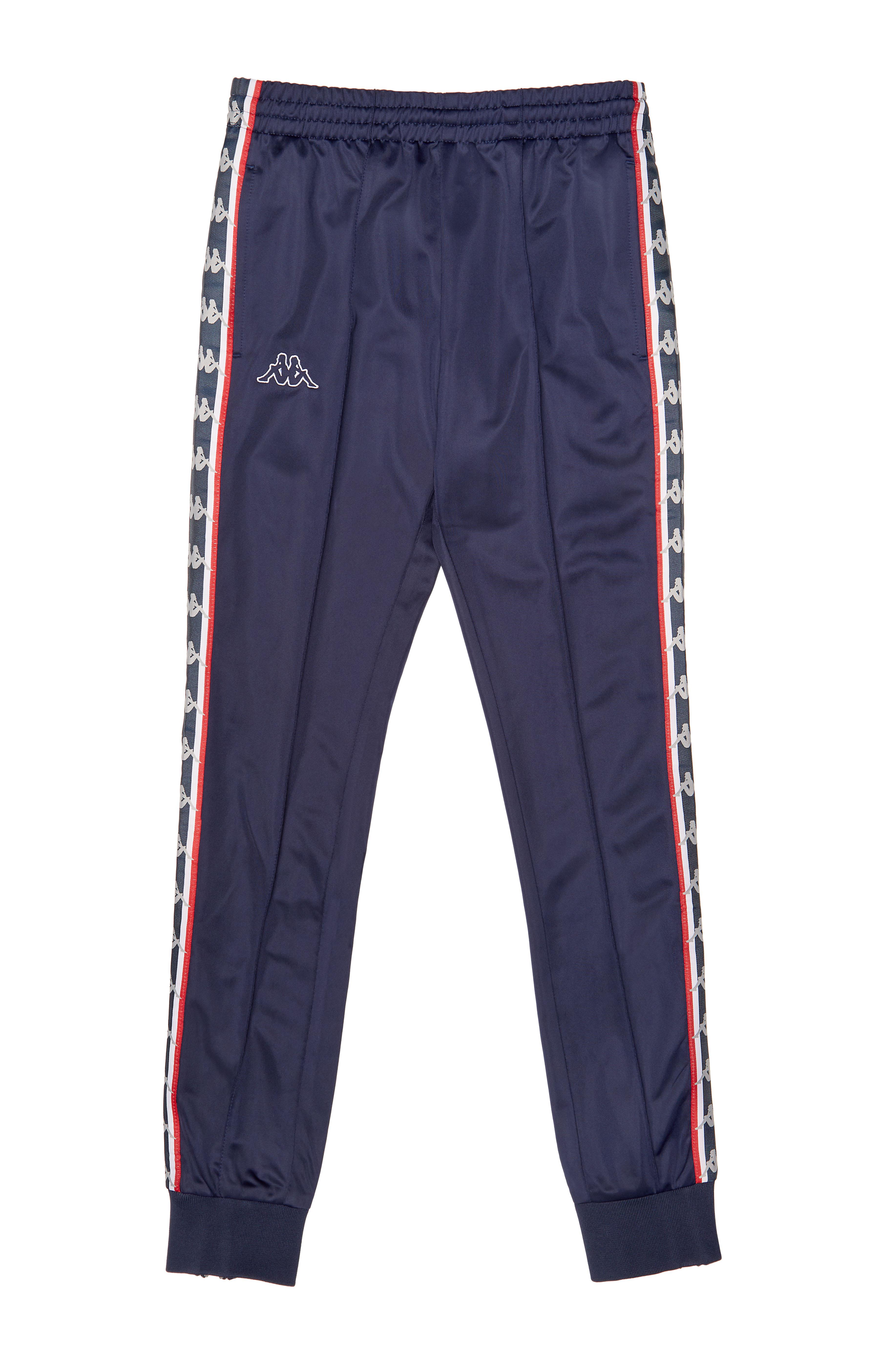 SSENSE_Kappa_SSENSE Exclusive Navy Track Pants