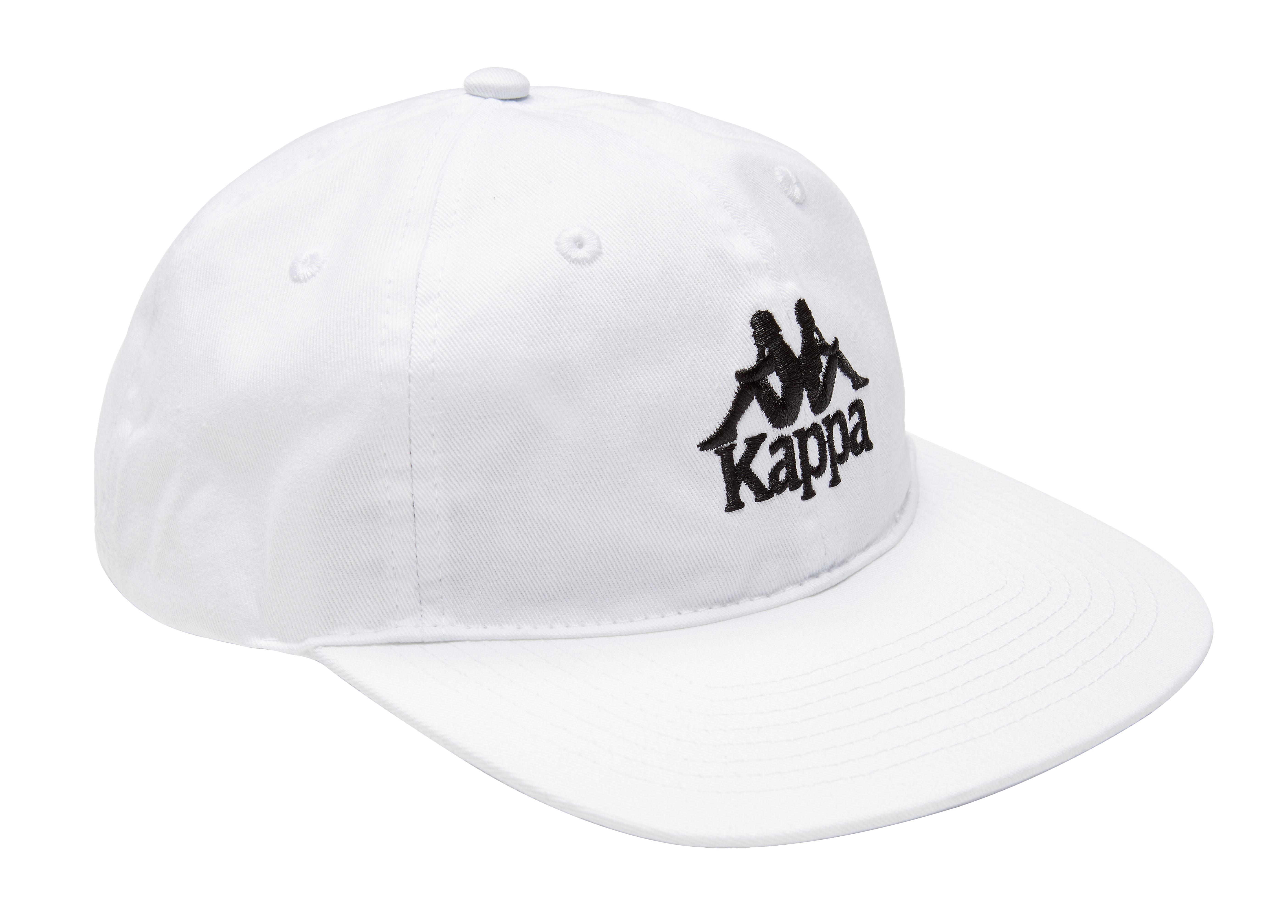 SSENSE_Kappa_SSENSE Exclusive White Kappa Cap
