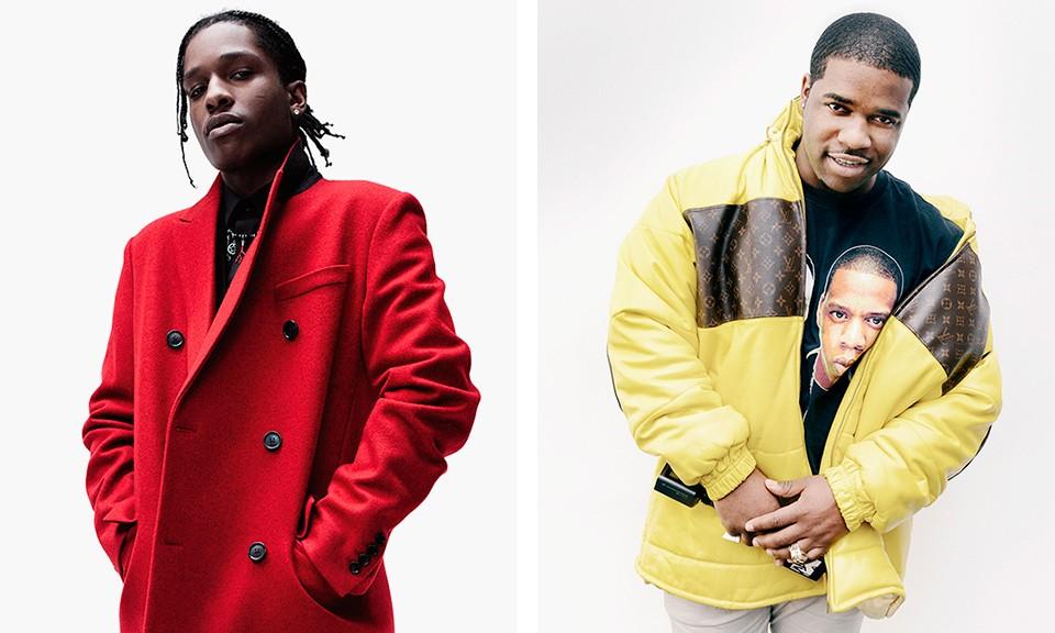 Découvrez le dernier son d'A$AP Rocky et d'A$AP Ferg «Wrong»