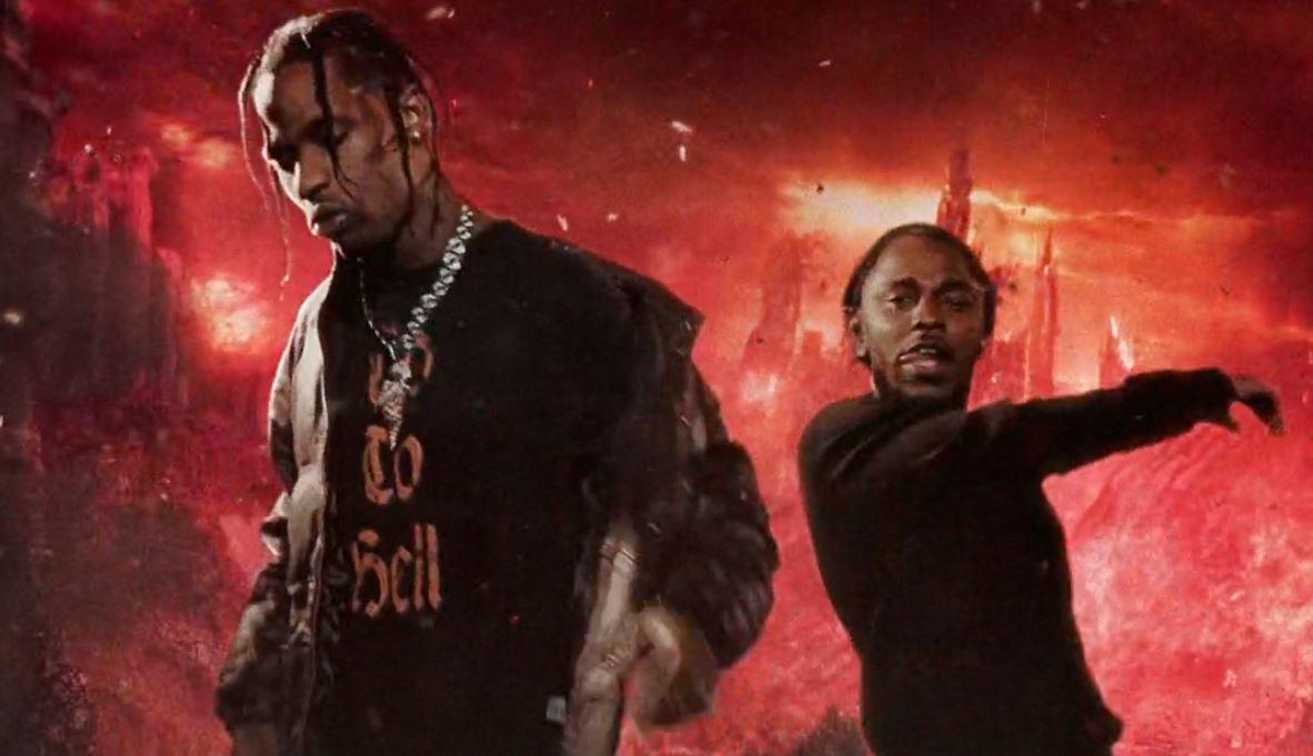 Travi$ Scott et Kendrick Lamar lâchent un clip pour le son « GooseBumps »