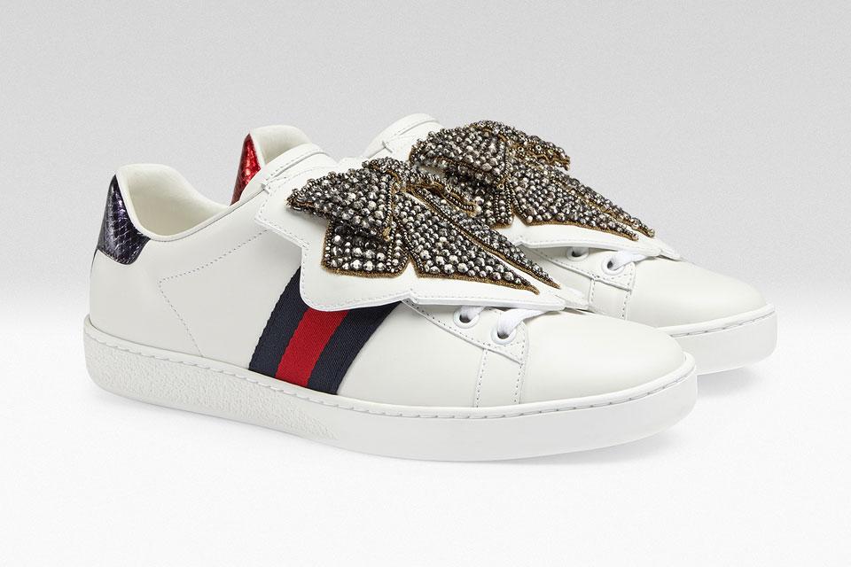 De nouveaux patchs pour vos baskets Gucci